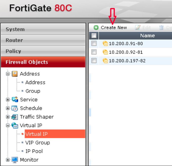 Port Forwarding Configuration